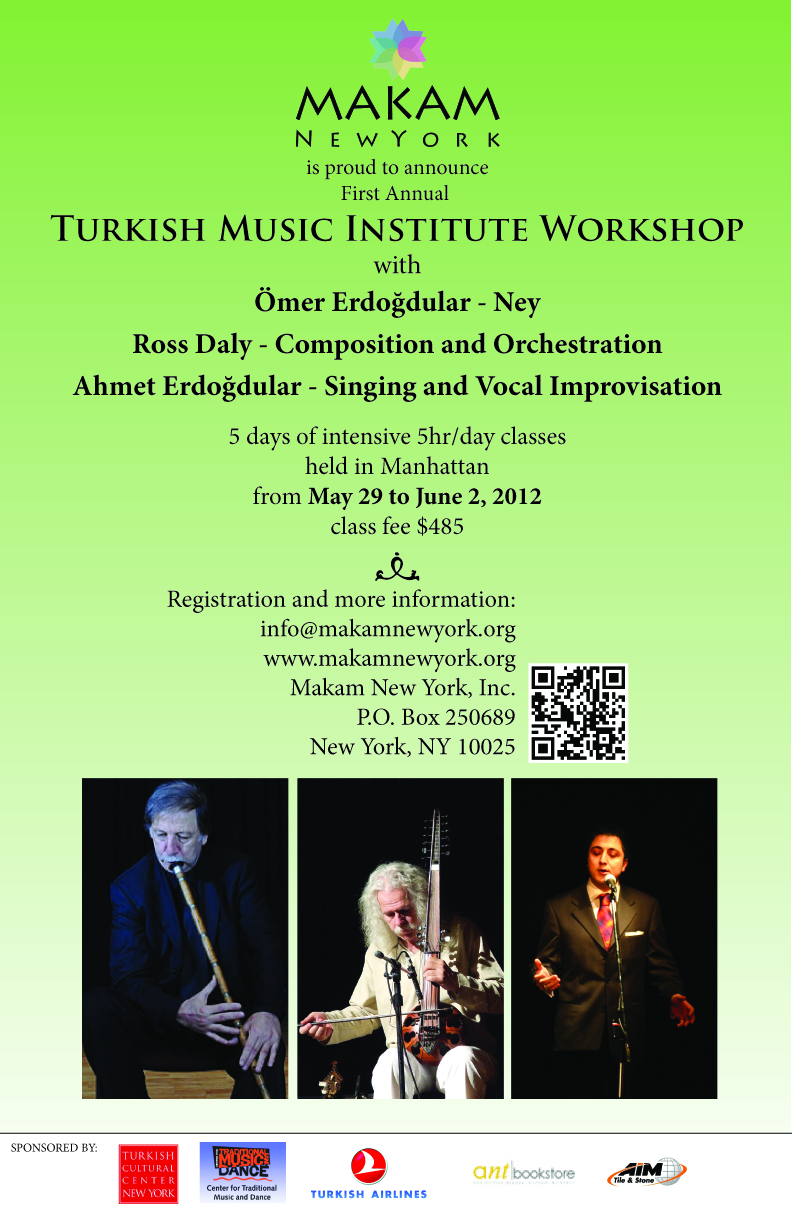 Turkish Music Institute Workshop