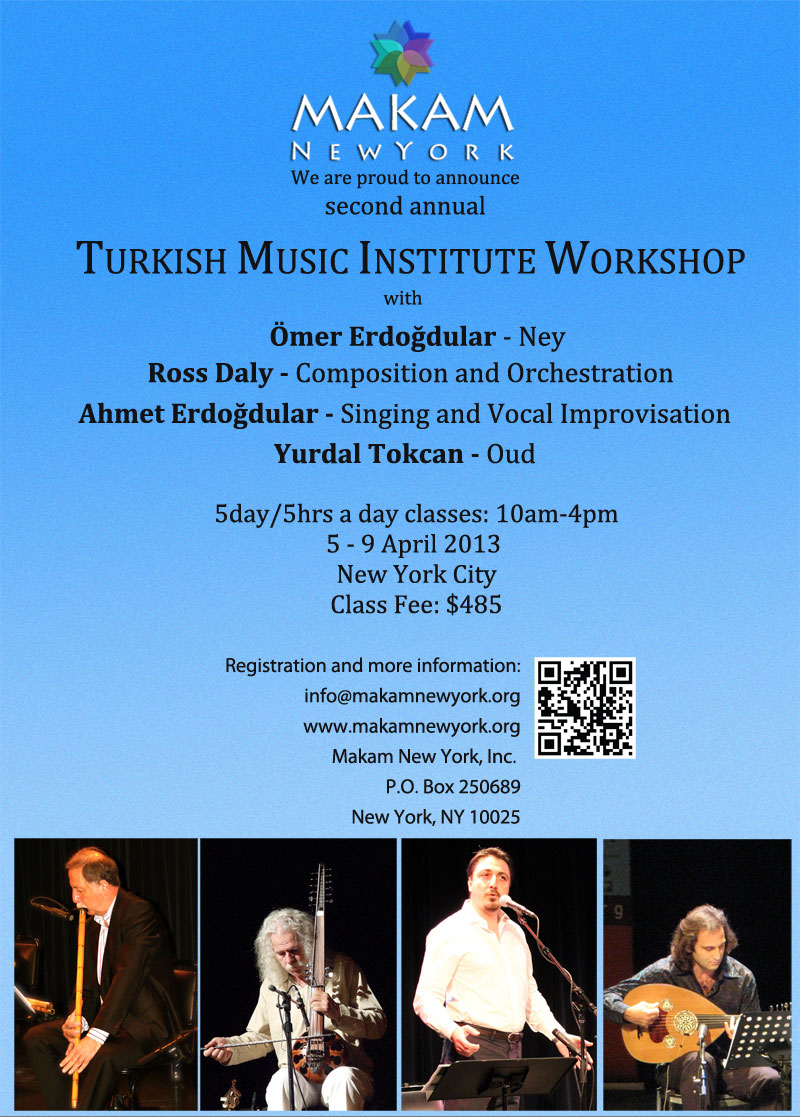 Second Annual Turkish Music Institute Workshop