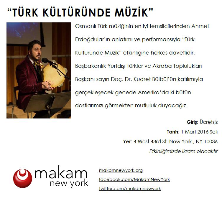 Turk kulturunde muzik