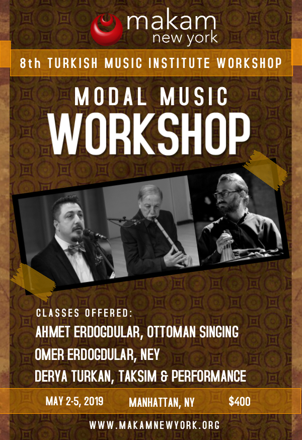 8th Annual Turkish Music Institute Workshop