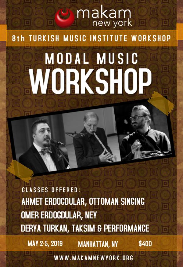 8th Annual Turkish Music Institute Workshop