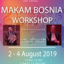 2nd Makam Bosnia Workshop 2, 3, 4 August 2019